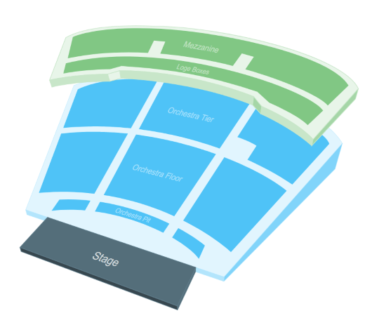 Hill Performance Hall Layout
