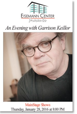 Garrison Keillor Program Cover