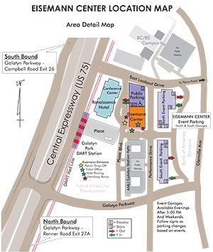 Eisemann Center Map